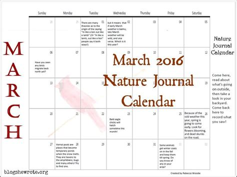 printable calendar resources 2u 17 best images about homeschool nature resources on