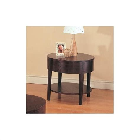 accent table with shelves coaster gough round end table with shelf 3940