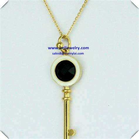 gold stainless steel necklace chain 2014 fashion