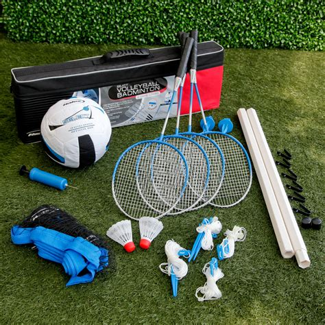 Halex Select Combination Volleyball Badminton Set Do