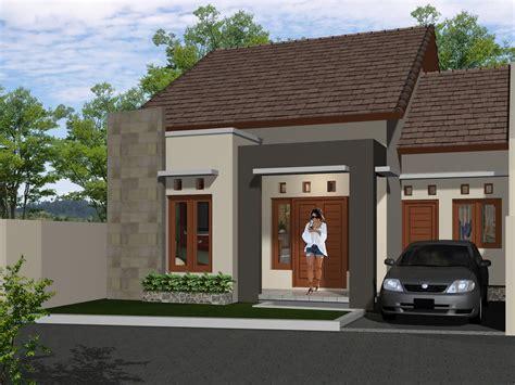 desain depan rumah natural 15 desain rumah minimalis tak depan