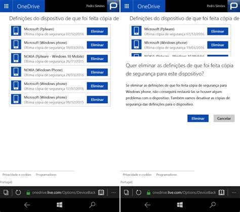 backup mobile saiba configurar e gerir os backups no windows 10 mobile