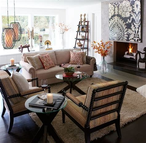 living room inspired by pier one for the home