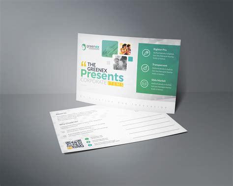 Vega Professional Stylish Postcard Template 001149 Template Catalog Professional Postcard Templates