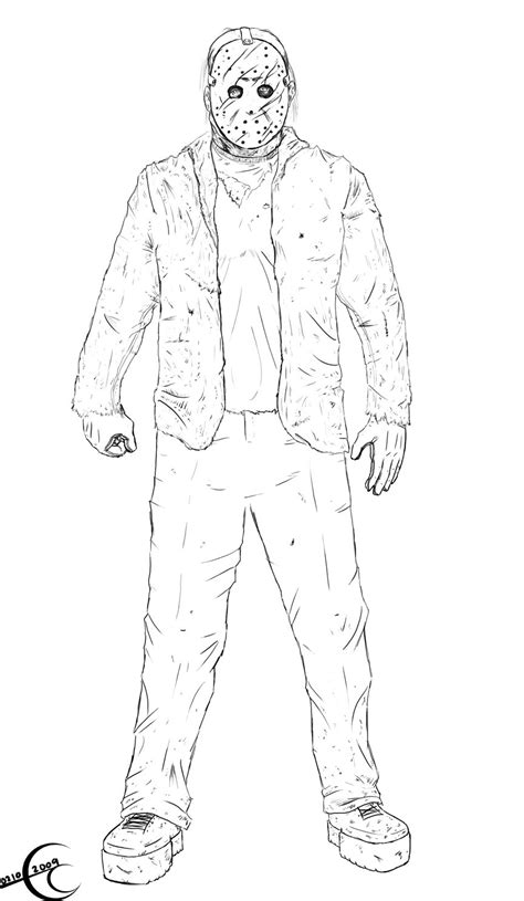 Jason Vs Freddy Free Coloring Pages Freddy Vs Jason Coloring Pages