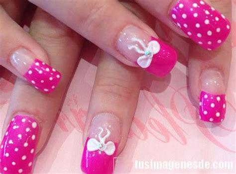 imagenes de uñas de acrilico diseños juveniles u 241 as acrilicas decoradas