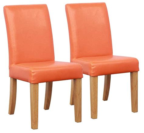 orange dining chairs shankar bambi kids dining chairs in orange