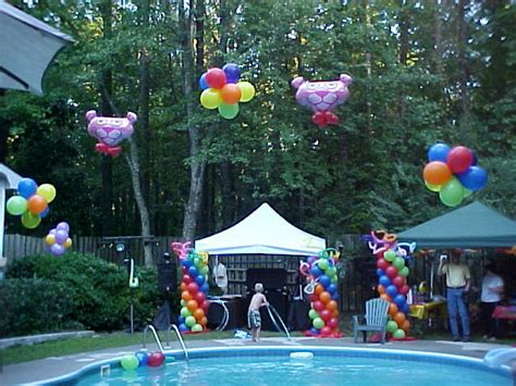 pool party ideas summer theme fantastic pool party decoration ideas