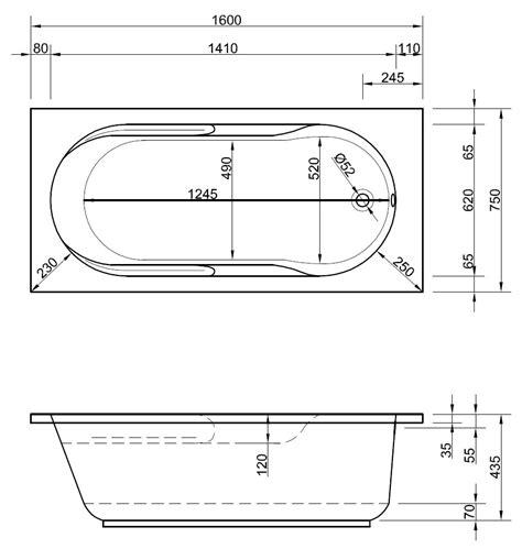 abmessungen badewanne badewanne mit duschplatz 160 x 75 cm f 252 r kleine badezimmer
