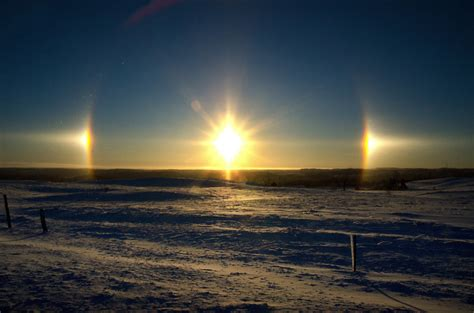 what are sun dogs photos the weather network