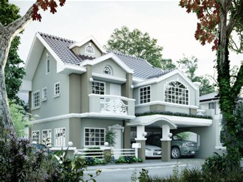 Contemporary House Floor Plans Two Storey House Plans Pinoy Eplans