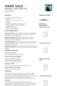 Museum Director Sle Resume by Regional Sales Director Resume Sles Visualcv Resume Sles Database