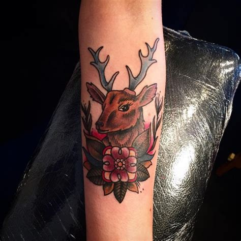 150 magnificent deer tattoos and meanings 2017 collection