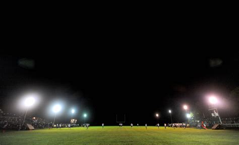 Gallery Waterville Football Under The Lights Central Maine Football Lights