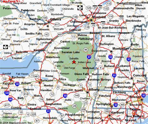 map of upstate new york map of upstate new york new york map