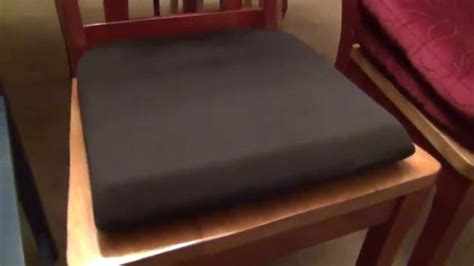 foam to make bench cushion kensington memory foam seat cushion review youtube