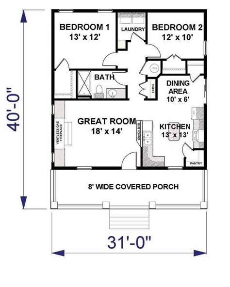 Small House Plans Home Design Dp 992 Southern Living 2 Bedroom Guest House Plans