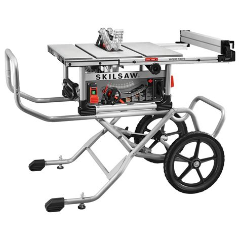 Skilsaw 10 In Heavy Duty Worm Drive Table Saw 15