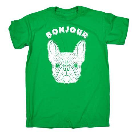 Tshirt Bonjour Item bonjour frenchie mens tshirt birthday bulldog pup