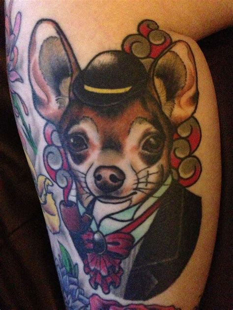chihuahua tattoo chihuahua animal tattoos chihuahua