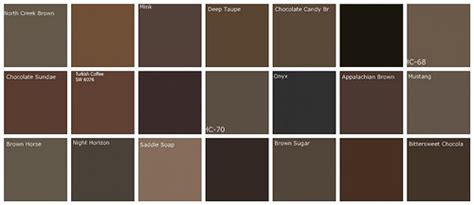 brown paint colors designers favorite brands colo flickr photo