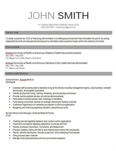 resume templates modern contemporary resume templates 2015 http www jobresume