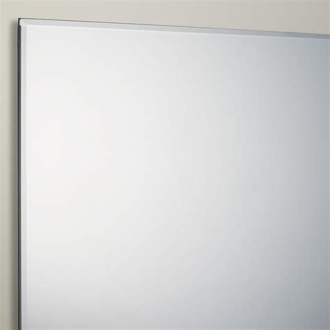 bathroom mirror bevelled edge john lewis bevelled edge bathroom mirror 70cm x 50cm new