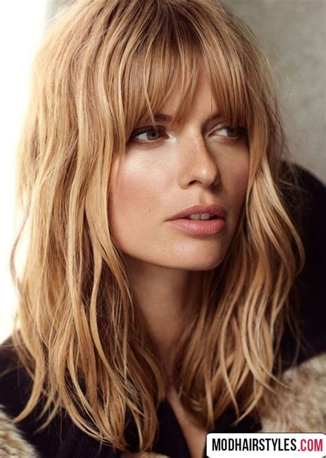 medium style haircuts for medium haircuts with bangs 30 gorgeous medium haircut