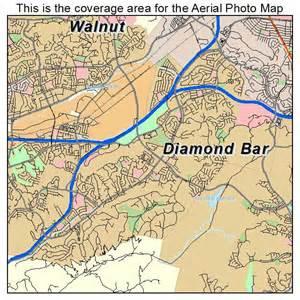 aerial photography map of bar ca california