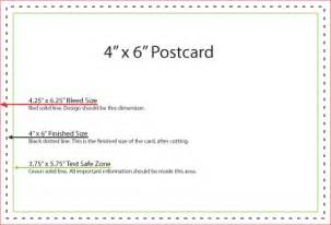 4 x 6 postcard template how to properly create bleeds for printing at cec