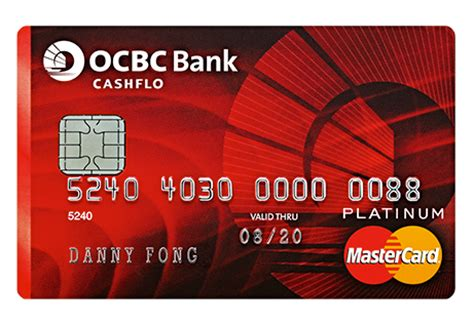Ocbc Credit Card Application Form Malaysia Ocbc Cashflo Credit Card Credit Card Application