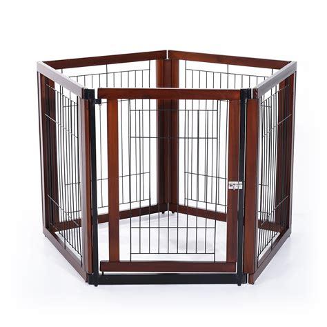 gabbia per cani da interno pawhut recinto gabbia per cani e gatti in legno di pino 5