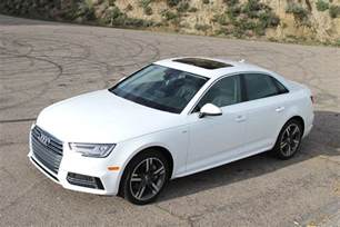Audi A4 Performance 2017 Audi A4 Drive Pictures Specs Performance