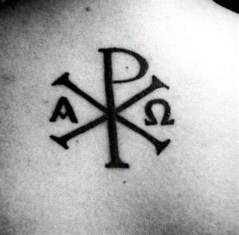 christian symbol tattoos 25 best ideas about alpha omega on