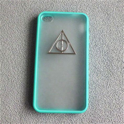 Casing Iphone X Harry Potter And The Deathly Hardcase Custom Cove iphone 4 harry potter deathly from studdedcasesbar on etsy