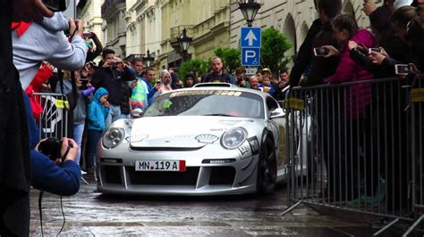 gas monkey porsche ls3 and quot porsche cayman quot roll in to the gumball