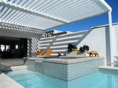 Patio Louvres by Equinox Louvered Roof System Patio Cover Alumawood