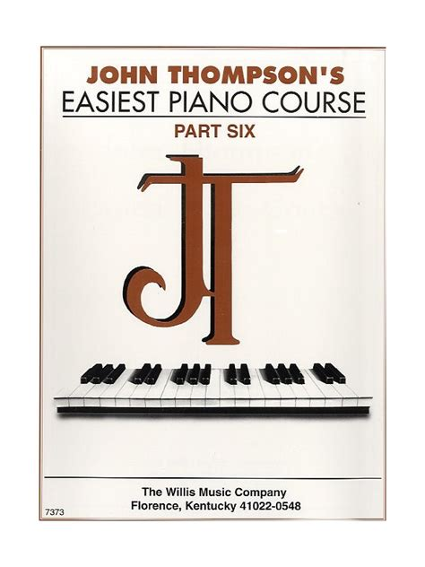 easiest piano course part john thompson s easiest piano course part 6 piano books tuition musicroom com