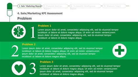 Schematic Report Template Powerpoint Business Report Powerpoint Template Slidesbase