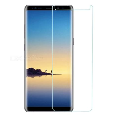 Samsung Galaxy Megai9150 Tempered Glass Smile mini smile tempered glass screen protector for samsung galaxy note 8 free shipping dealextreme