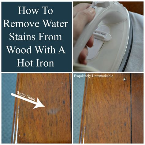 How To Remove Stains by How To Remove Water Stains From Wood Exquisitely Unremarkable