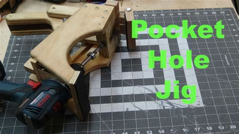 how to make a pocket jig diy fyi