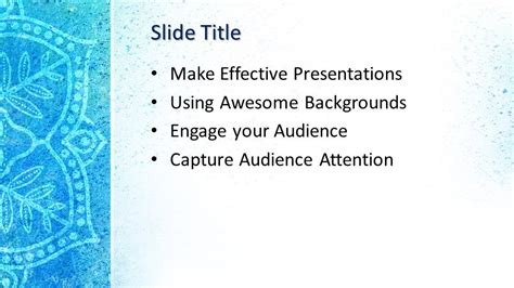 mandala powerpoint template  powerpoint templates