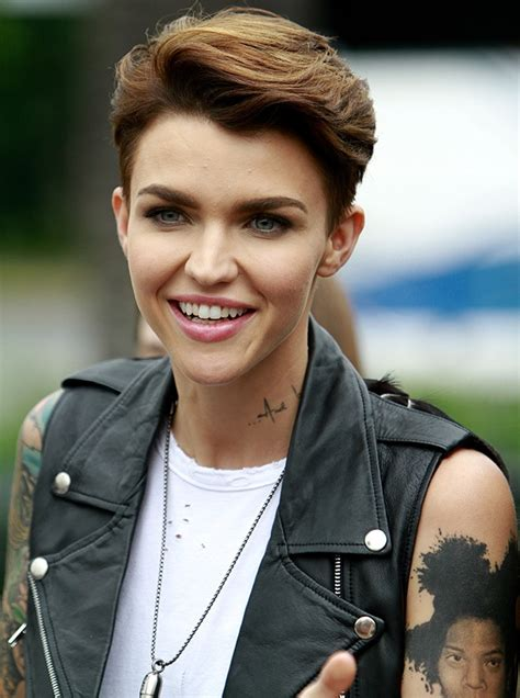 ruby rose haircut ruby rose hairstyles hair world magazine