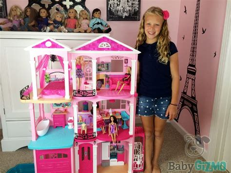 barbie dream house buy new barbie dreamhouse 2015 house tour and review video baby gizmo