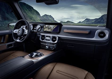 2019 mercedes g class interior officially revealed