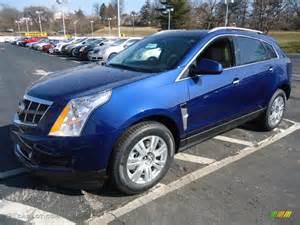 Cadillac Srx Blue Xenon Blue Metallic 2012 Cadillac Srx Luxury Exterior