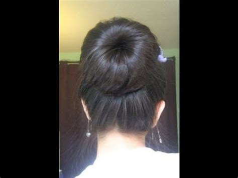 bun hair direction 48 best how to do a sock bun images on pinterest buns