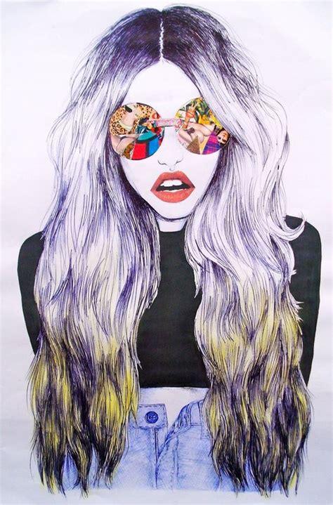 edgy urban cool hair on pinterest 86 pins fashion illustration подборка фото модной иллюстрации для