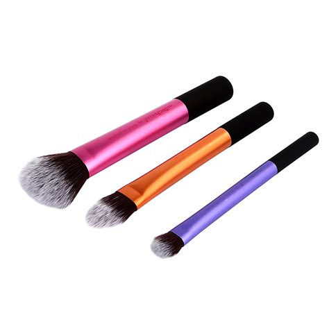 6 Pcs Real Techniques Sams Brush Set Kuas Makeup Murah Dupe Impor us shipping makeup brushes kit collection starter travel essentials ebay